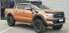 FORD RANGER 4'' STAINLESS STEEL SNORKEL KIT.. Black Powder coat finish