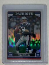 Tom Brady 2006 Topps Chrome Refractor SP #106 New England Patriots