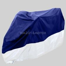 XL Motorcycle Cover Protector For Honda CBR CBF Silver Wing Cafe Racer Scooter