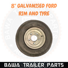 """8"""" Galvanised FORD Boat Trailer Wheel with Tyre  - Trailer Parts !"""