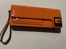 Guess Orange Clutch - Pre-owned