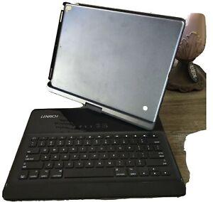 LENRICH Keyboard + Case For 12.9 Inch 1stTablet PC, Black