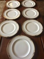 "Vintage Royal Doulton Dumont Dinner Plates Lot Of Seven Size 10 1/2"""