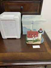 Harbour Lights Point Betsie Michigan Mi #218 1998 with Box Lighthouse