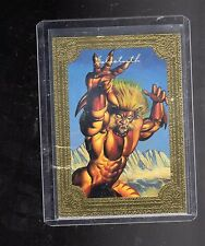 1996 Marvel  Masterpieces  #4 Golden Gallery card