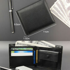 Small Rfid Purse Men Wallet Coin Pocket Clutch Fashion Zipper Money Clip Purses