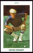 PAYNE STEWART MUELLER GOLFS GREATEST US OPEN PINEHURST HAZELTINE HOF CARD #26