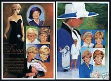 St Vincent 1998 Diana Commemoration SG 3910/17 MNH