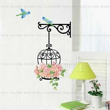 Rose cage Home room Decor Removable Wall Sticker/Decal/Decoration