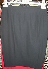 ESCADA by MARGARETHA LEY Wool SKIRT Black Jupe 38 6 8 AsNEW See STORE for Jacket