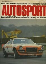 Autosport March 14th 1974 *BMW 2002 Tii Road Test*