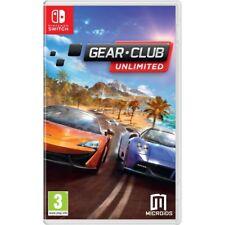 Gear Club Unlimited Nintendo Switch Game