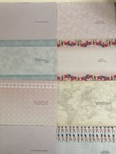 20 Sheets of A4 Card Inserts Various Occasions 140gsm Verses Card Making