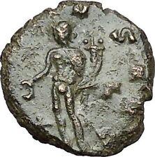 Claudius II Gothicus 268AD Ancient Roman Coin Genius Cult Protection  i40824