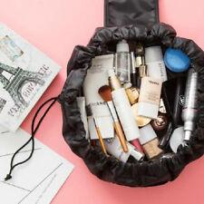 Fashion Womens Portable Drawstring Make Travel Lazy Cosmetic Bags Storage Bag