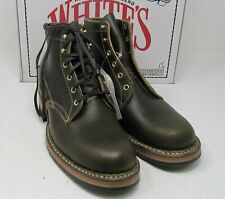 "Whites Boots, 2332.Olive Waxed flesh, 10 D, 5.5"", Half comp."