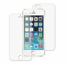 QUALITY CLEAR FRONT AND BACK LCD SCREEN PROTECTOR COVER FOR APPLE IPHONE 5 SE 5G