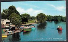 c1970's View of Motor Boat on the Thames, Caversham Bridge, Thomas, Reading