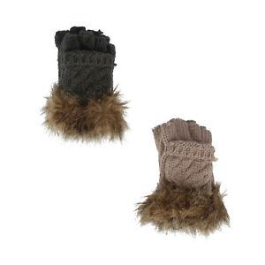 Damen Kurze Handschuhe GL401
