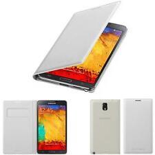 Original Samsung Galaxy Note 3 N9005 Handy Tasche Flip Case Akkudeckel Etui WEIß