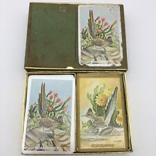 VTG Congress roadrunner playing cards double pack 2 sets