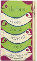 1940's Vintage Dinner & Wine Menu DORLON'S SHORE HOUSE Restaurant Norwalk Conn.