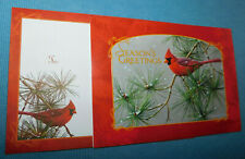 New Beautiful CHRISTMAS Greeting Card with Matching Envelope