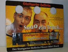 Hummer Scania Stuttgarter Hofbräu promo Delivery lorry in 1:87
