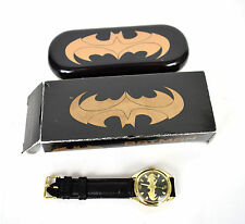 Fossil Batman & Robin Gold Wrist Watch LTD 1000 Box Tin LI-1609 Comic