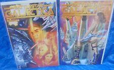 Battlestar Galactica Comic Book Lot # 1 & # 2 2013 Dynamite Apollo Athena Cylons