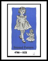 Sundress Party Dress Frock Pattern Baby GIRL Toddler Mail Order #4766 UNIQUE ~2~