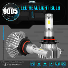 2x 9005 HB3 LED HEADLIGHT 1150W Bulbs 6000K White KIT High Beam Power 172500LM