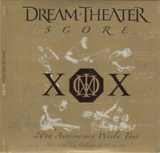 DREAM THEATER ‎– SCORE 20TH ANNIVERSARY WORLD TOUR 3CDs (NEW/SEALED)
