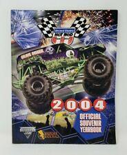 2004 USHRA Monster Truck Thunder Nationals Official Yearbook Grave Digger