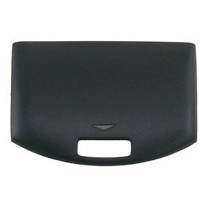 3-pack Black Battery Door for Sony Playstation PSP 1000 Fat
