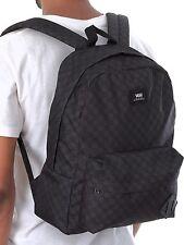Zaino Vans Classico Backpack Old Skool Black White Nero 42x31x12 Grigio