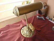 enorme lampe de bureau debut XXème,bronze,4kg