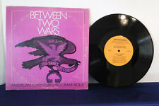 "Between Two Wars: American Adventures Program Vol. 3, FS 12503, 10"" 33 RPM"