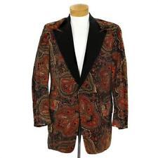 Blazer Velvet Original Vintage Coats & Jackets for Men