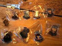 Star Wars Force Awakens Pin Collection (set of 4 pins)