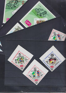 086753 Fussball WM `70 Soccer Yemen Jemen ** MNH Stamps Briefmarken