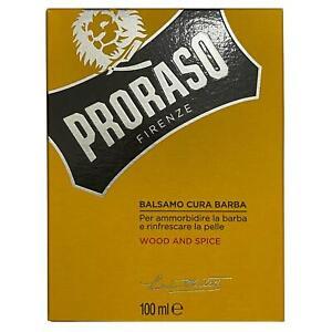 Proraso Wood and Spice Beard / Moustache Soften Nourishing Balm 100ml