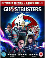 Ghostbusters Blu-Ray (2016) NEW