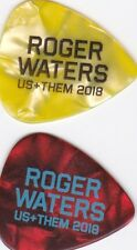 roger waters vip us+them guitar pick 2018 lyon paris u arena lill antwerp berlin