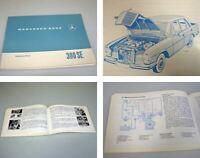 Mercedes Benz 300 SEb W108 Betriebsanleitung Original 1965 mit Motor M 189 VIII
