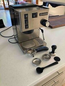 Rancilio silvia v6 E model espresso coffee machine. Excellent condition