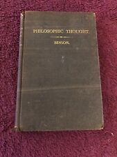 Philosophic Thought In All Ages Or The Bible Defended By Lawrence S. Benson Rare