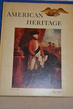 Vintage Hard Cover Book 1960 American Heritage History Collectible