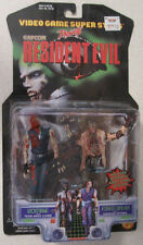 Resident Evil ZOMBIE & FOREST SPEYER action figures Capcom 1998 Walking Dead MOC