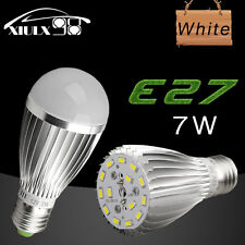 2X Xenon White 7W 12V E27 E26 Home LED RV Boat Factory Energy Saving Bulb Lights